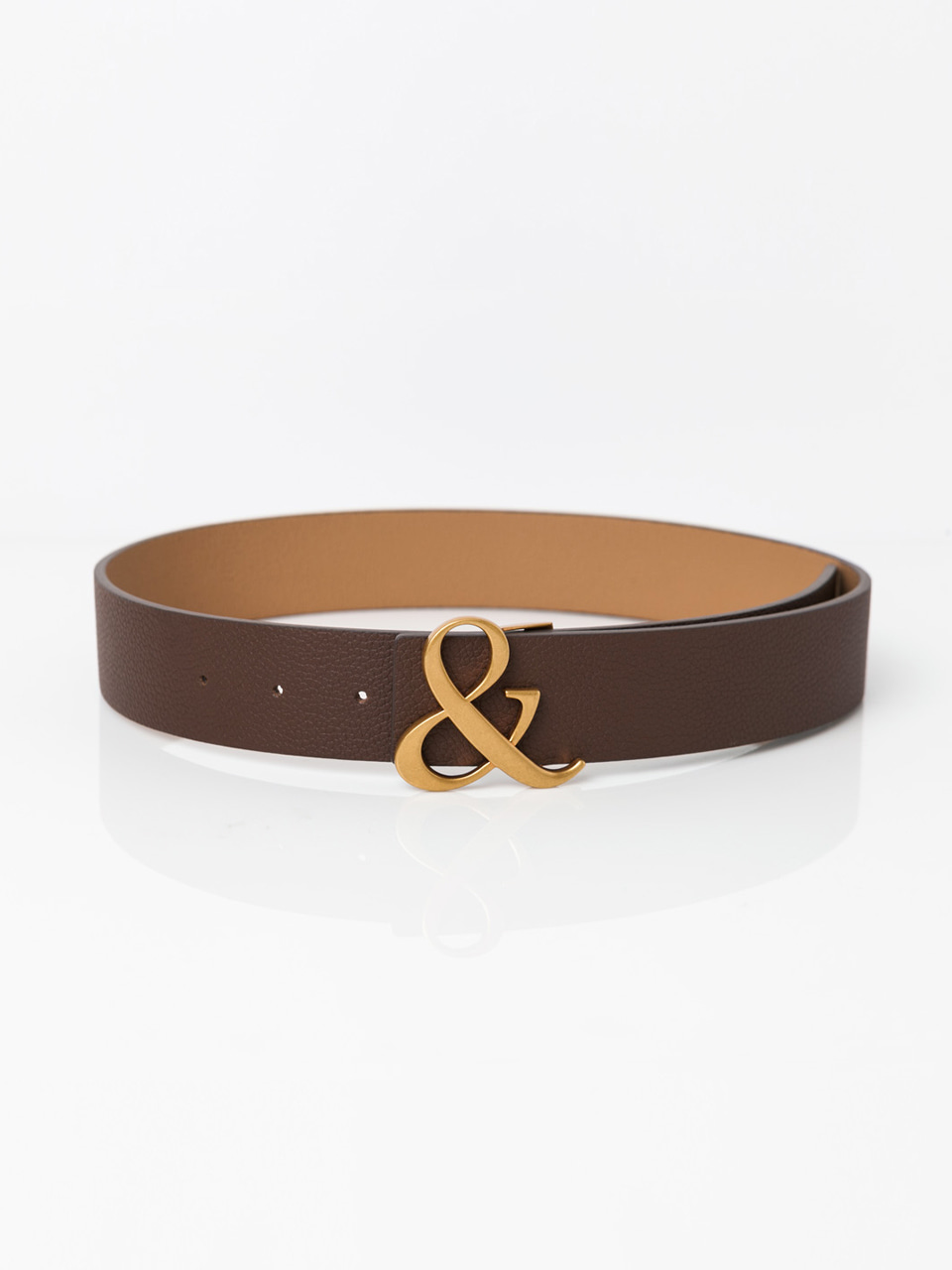 [ABCME5001M] AMPERSAND REVERSIBLE BELT_BR